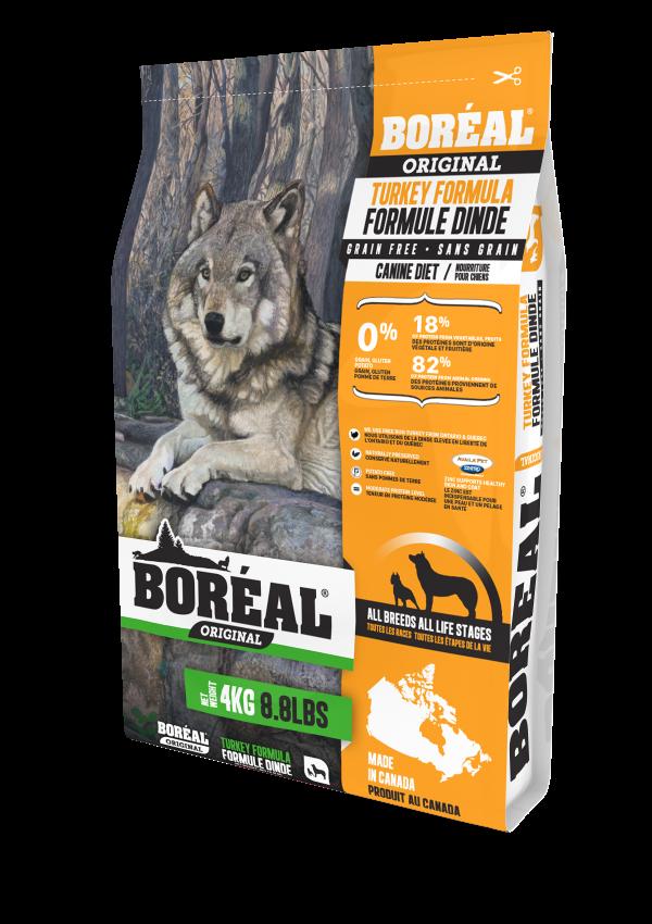 BOREAL ORIGINAL Корм для собак всех пород с индейкой – Boreal